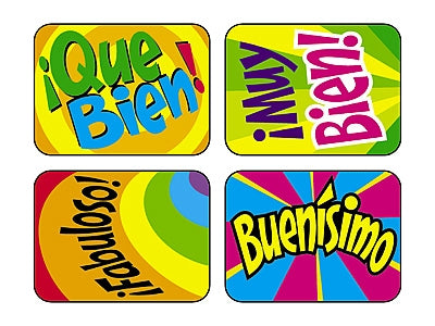 Fabuloso! - Spanish Hooray Words - 100 Stickers