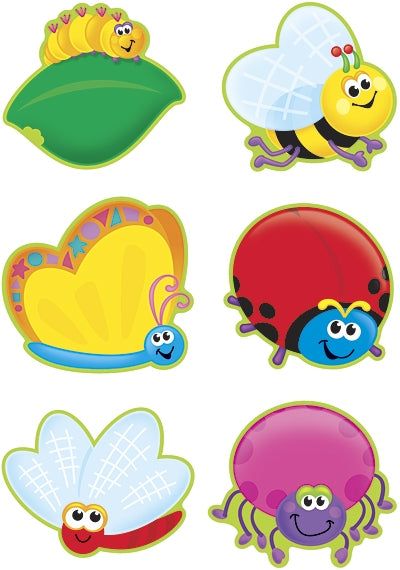 Bright Bugs Picture Cards - variety pack for School and Home!