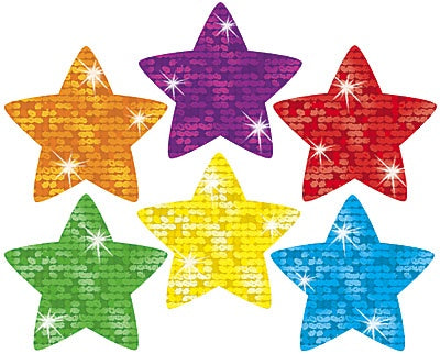 Super Stars Sparkle Stickers - 180 stickers
