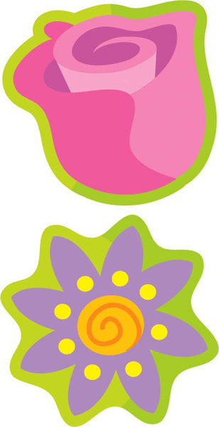 Garden Flowers (Floral) Mixed Shape Smelly Stickers