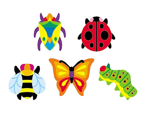 Totally Buggy - 800 stickers - minibeasts