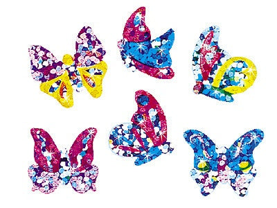 Brilliant Butterflies - 72 stickers - butterfly - minibeasts