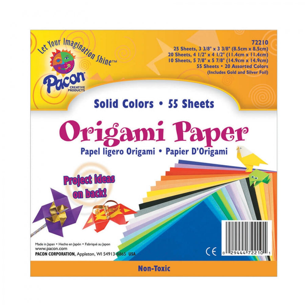 Origami Paper - 55 sheets of paper
