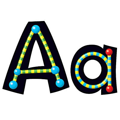 Alpha Beads letters