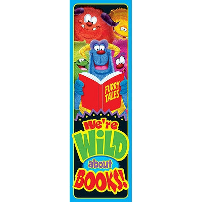 'Wild About Books!' Bookmarks