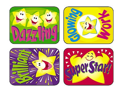 Super Stars Applause Stickers - 100 Stickers