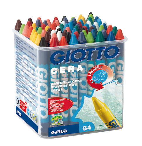 Giotto Cera Crayons - 96 per pack