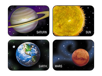 Planets and Sun - 100 stickers - Solar System stickers