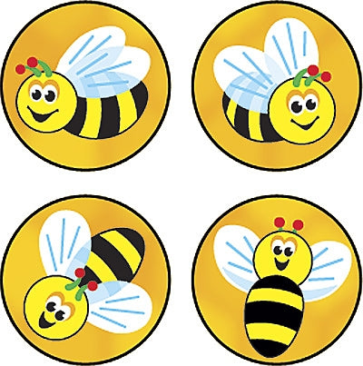 Bees Buzz stickers - 800 stickers per pack
