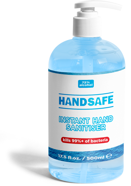 Hand gel sanitiser - 70% alcohol - 500ml