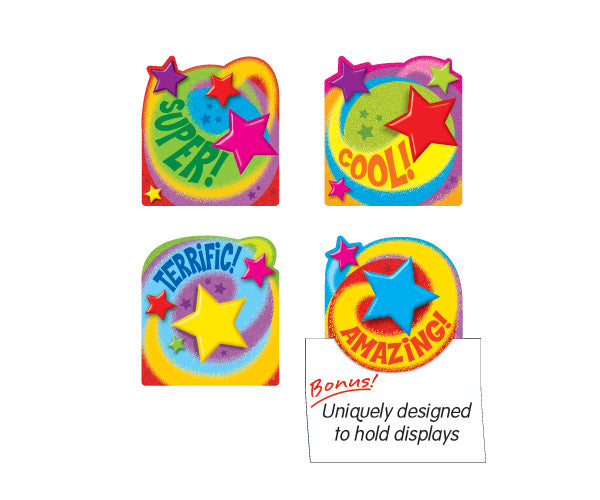Stars'n'swirls reward cards - uniquely designed to showcase work