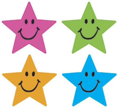 Star Smiles stickers - 800 per pack