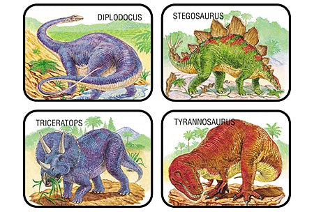 Dinosaurs Applause Stickers