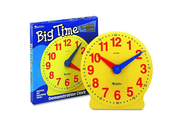 Learning Resources Big Time Teaching Clock