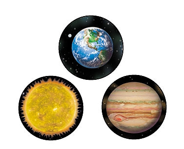 Solar System superSpots - 800 stickers
