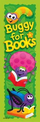 'Buggy for Books Bookmarks - 36 per pack classroom value - minibeasts - G