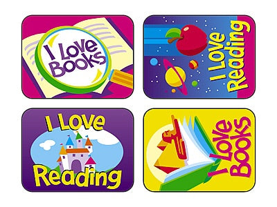 Reading Fun Rewards - 100 stickers