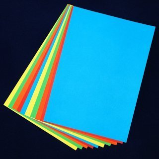 Coloured Card - A4 size