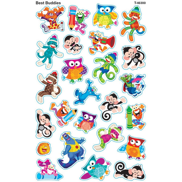 Best buddies super shapes stickers