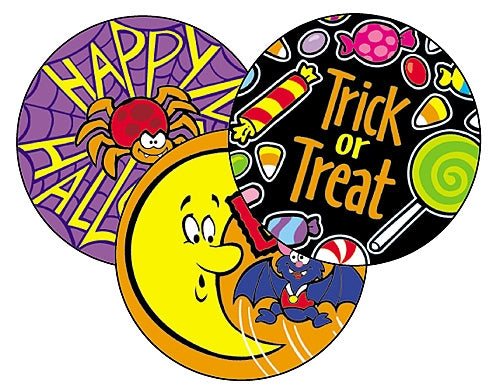Happy Halloween - 60 stickers per pack