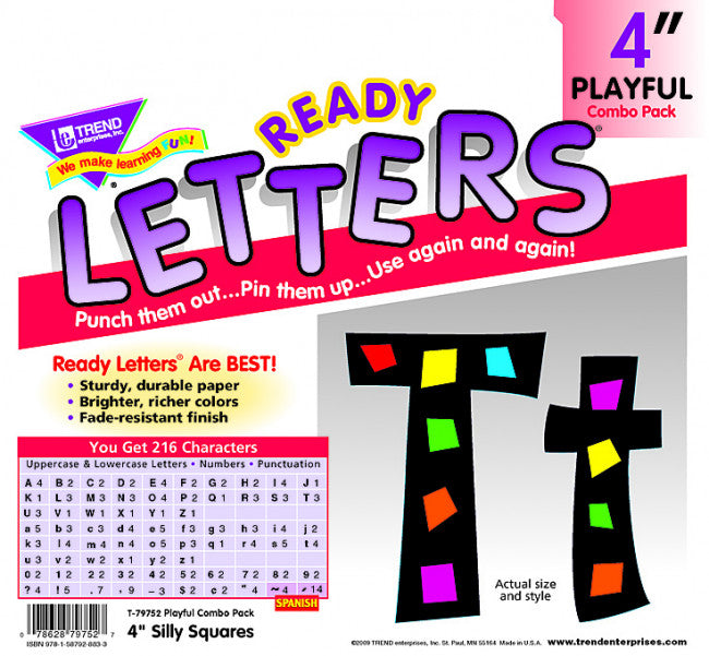 Silly Squares Letters