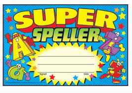Super Speller Recognition Award - pack of 30 certificates