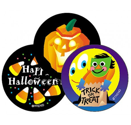 Halloween Stinky Stickers - 60 per pack