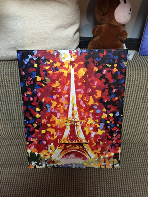 Finished Painting FP002 Eiffel Tower