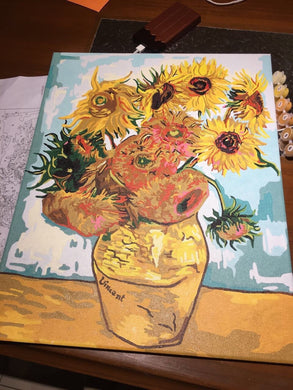 Finished Painting FP007 Sunflower
