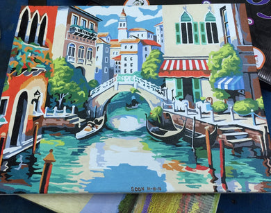 Finished Painting FP009 Town of Venice