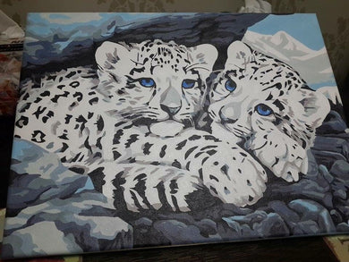 Finished Painting FP013 White Tiger