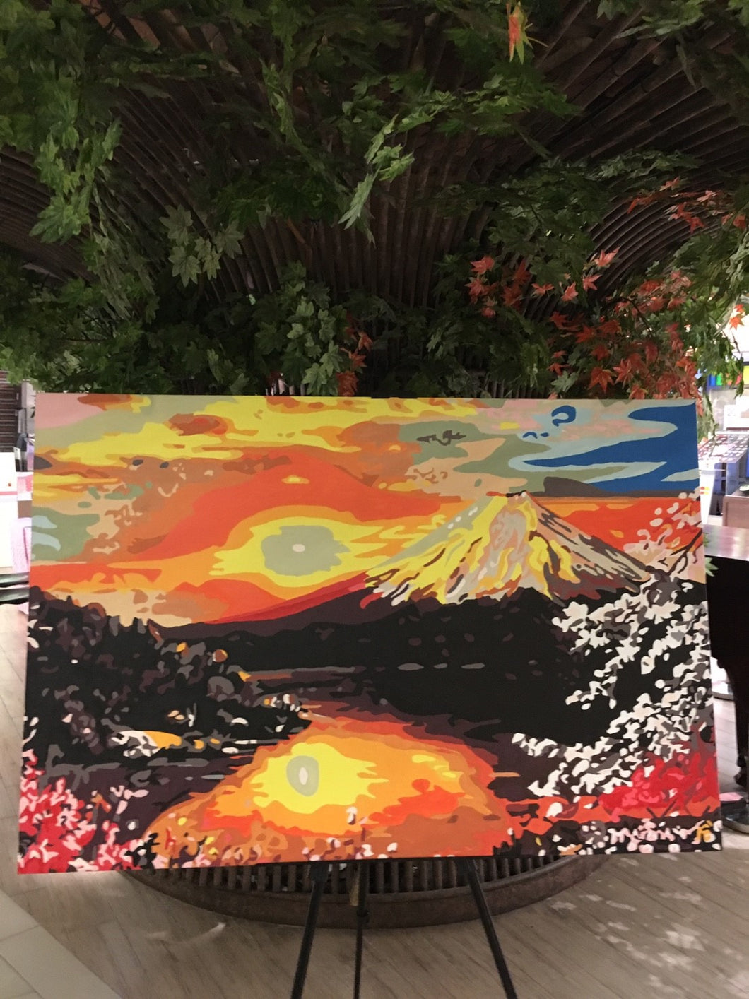 Finished Painting FP017 Mount Fuji