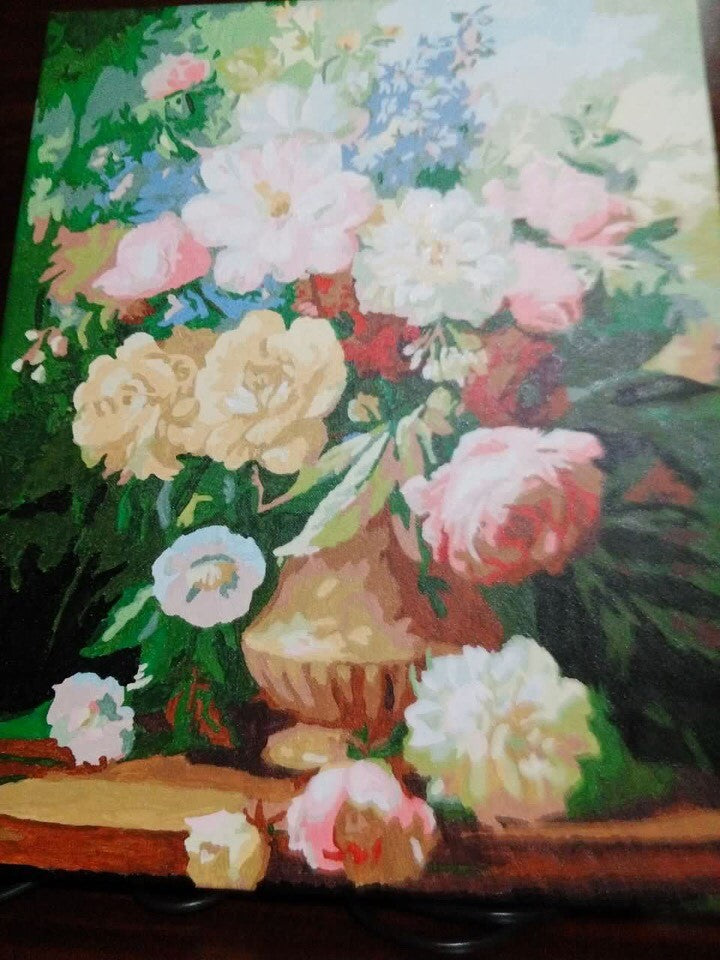 Finished Painting FP019 Flower Vase