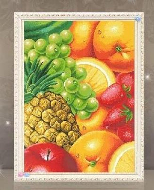 D1054 Crystal 3D Fruit 45*55