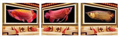 D2006 Crystal 3D Red Snapper 33*70