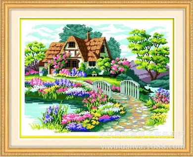 D1057 Crystal 3D Scenery 40*50