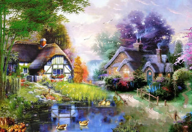 D1059 Crystal 3D Scenery 50*70