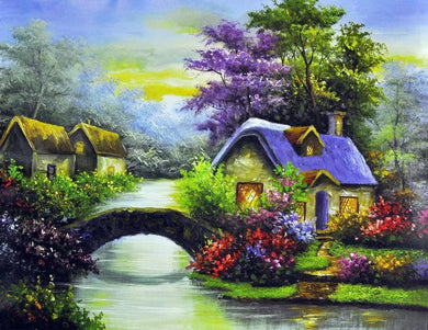 D10601 Crystal 3D Scenery 40*50