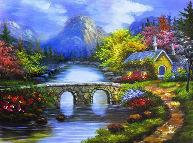 D1060 Crystal 3D Scenery 40*50