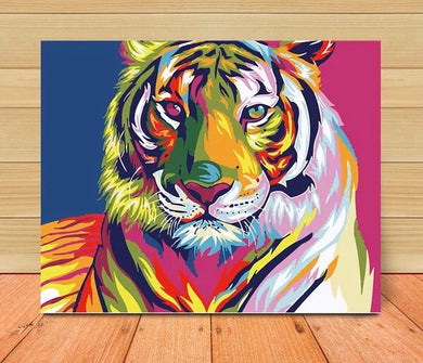 Painting G9908 Colorful Tiger