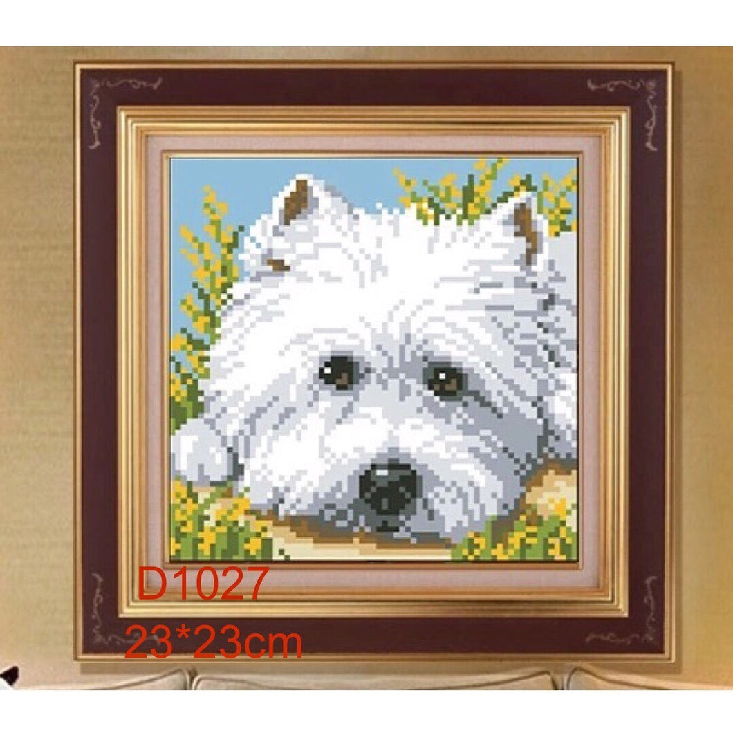 D5061 Crystal 3D Little Dog20*20