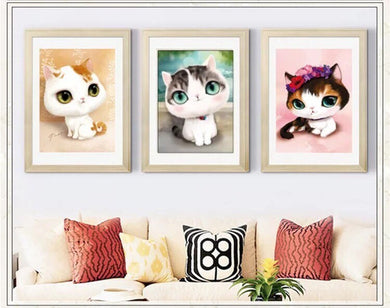 CD1011 Crystal 5D Cats30*40