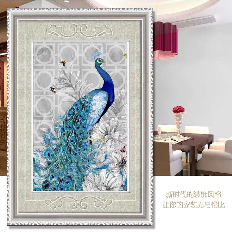 CD10271 Crystal 5D Peacock40*58