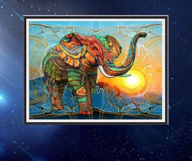 CD1032 Crystal 5D Elephant40*50
