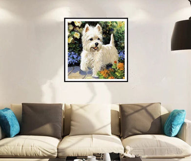 CD1035 Crystal 5D Dog30*30