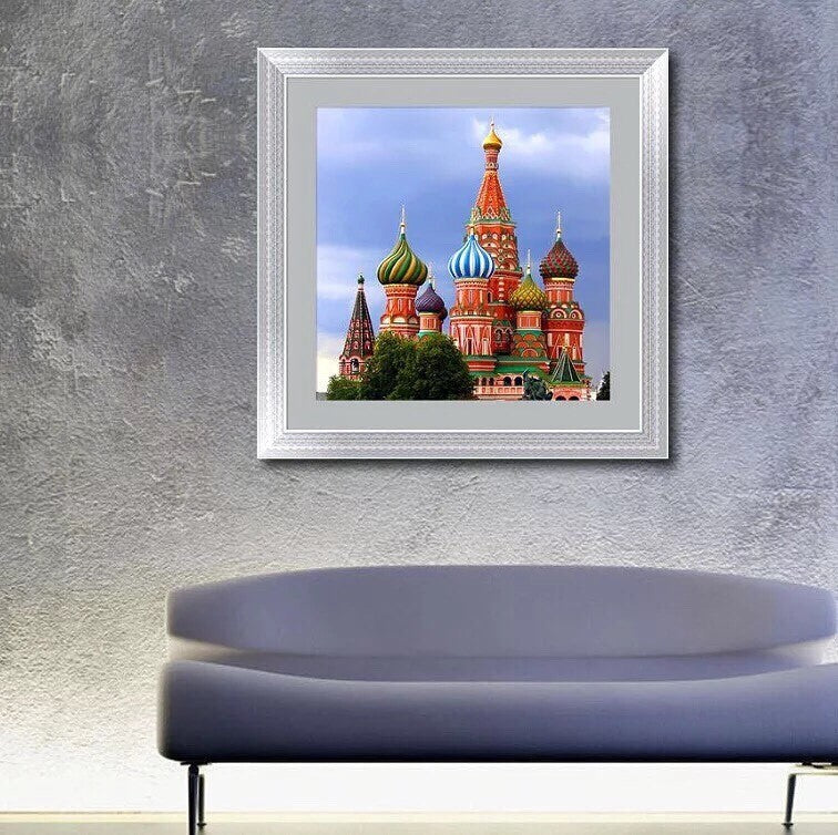 CD1038 Crystal 5D Saint Basil's Cathedral55*55