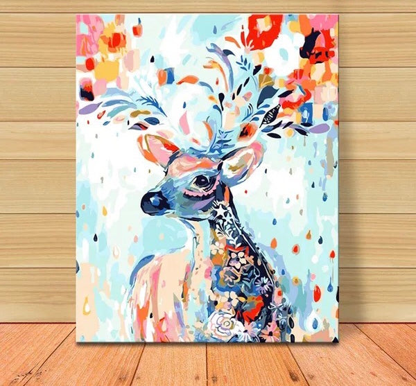 Painting G9907 Colorful Deer
