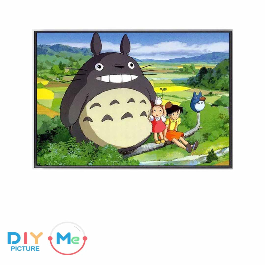 D5325 Crystal 3D Cartoon Totoro45*55