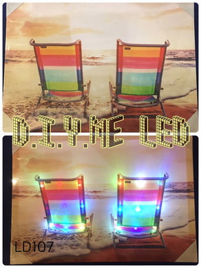 LED Picture LD104 Beach