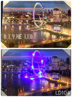 LED Picture LD107 London Eye